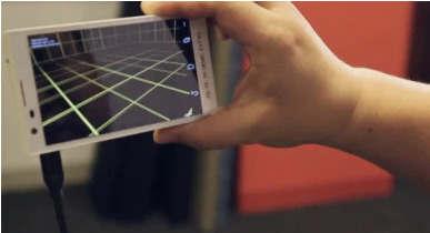 谷歌雄心勃勃地推动移动3D绘图首先是Project Tango类似Kinect的智能手机