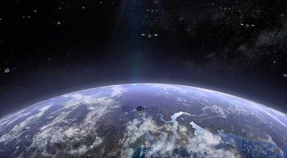 OneWeb筹集了12.5亿美元用于批量生产高速互联网卫星