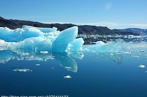 格陵兰岛的夏季融化早已开始今年它们非常糟糕