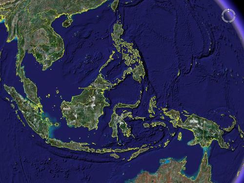 大陆群岛地理隔离之前很久就在盘古地区发生了区域演变