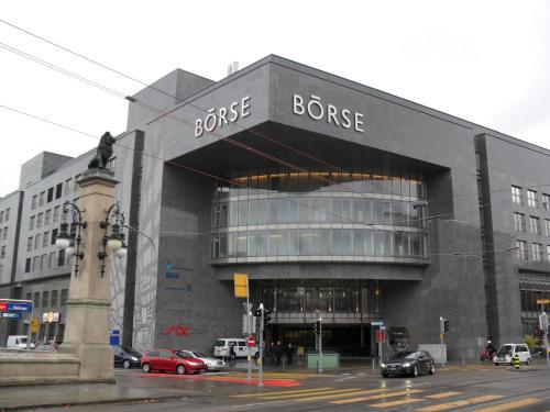 德国的德意志交易所和瑞士的瑞士证券交易所之间进行风险投资