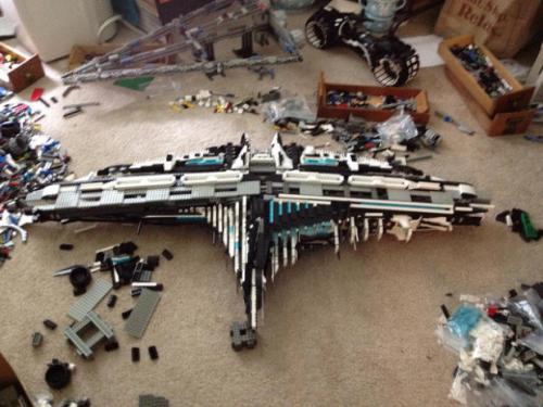 研究人员转而使用折纸和乐高来建造更好的太空船