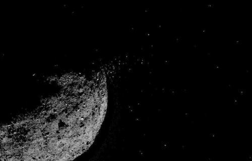 OSIRIS-Rex的目标非常罕见非常活跃为任务带来了问题