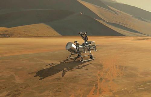 科学家们试图将无人机送到土星的卫星土卫六上