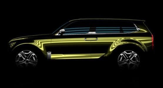 起亚汽车将公开大型SUVmohave的外观 月在韩国上市