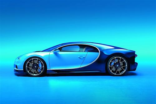 布加迪Chiron110 ans Bugatti版本庆祝成立110周年