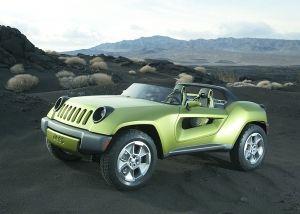 Jeep Renegade混合动力车在管道中是电动车推动的一部分