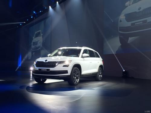 斯柯达Kodiaq GT亮相为中国推出全新轿跑SUV