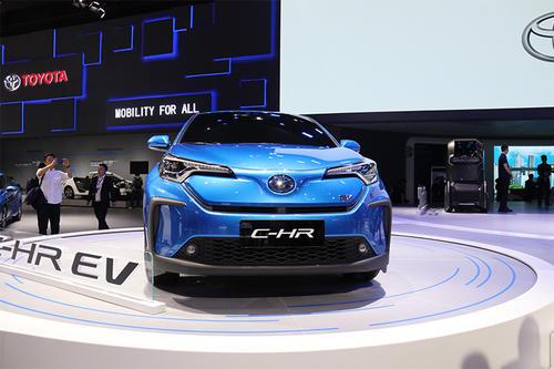 全电动丰田C-HR将于2020年在中国上市销售