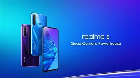 Realme 5将于明天首次发售手机将提供许多特别优惠