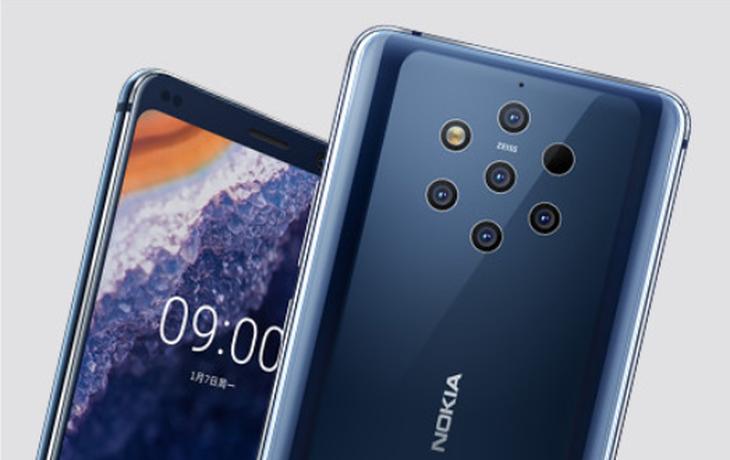 诺基亚9.1 PureView 5G可能会在今年年底推出更好的相机