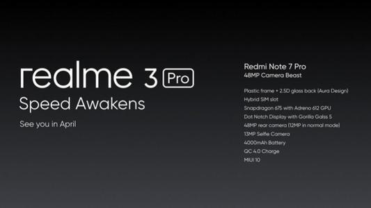 廉价购买这些智能手机的机会包括Realme 3 ProRealme 2