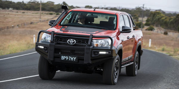 丰田HiLux Rugged&Rogue变种已在澳大利亚证实