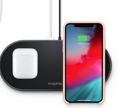 苹果出售新的Mophie多设备无线充电器