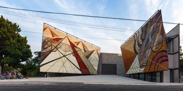 La Tallera恢复了墨西哥壁画家的原始公共艺术精神Frida Escobedo