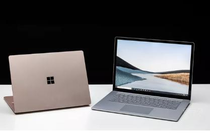 微软的Surface Laptop 3有两种尺寸和两种不同的处理器