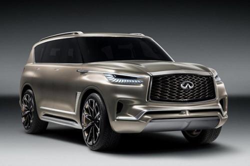 为我们提供了有关未来英菲尼迪SUV设计方向的一些线索