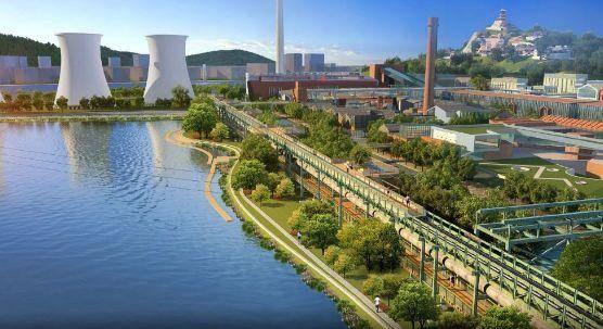 Urban Nouveau提议将现有桥梁的甲板变成一个线性公园