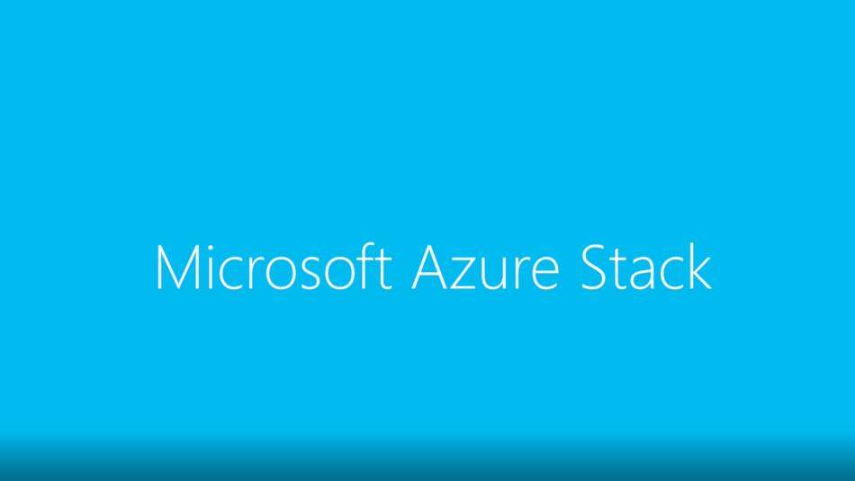 供应商订购Microsoft Azure Stack混合云系统
