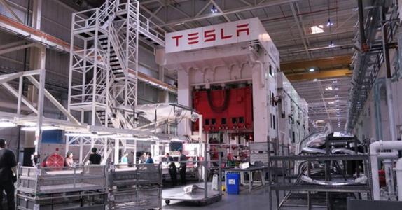 特斯拉已对其弗里蒙特制造设施进行重大升级