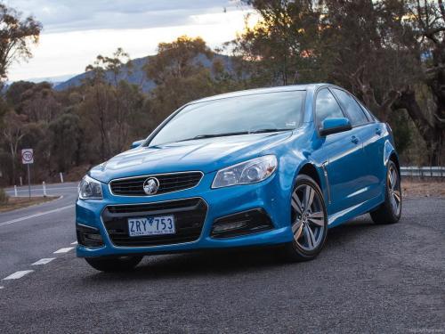Holden Commodore SV6的手动变速器生产结束