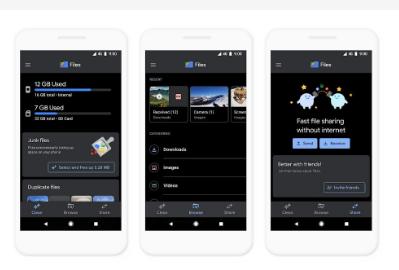 Google档案应用程式现在具有深色模式和更好的离线播放控制