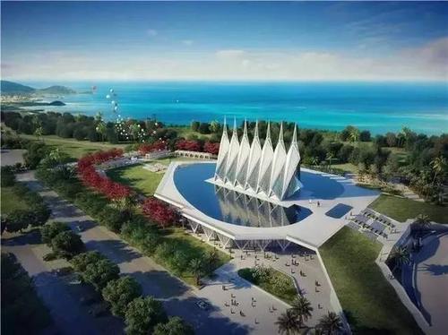Grimshaw Architects揭示了中国伊甸园项目的第一张图片