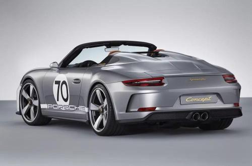 复兴后的公司已经展示了一张预告片照片显示了这辆Speedster风格的汽车的细节