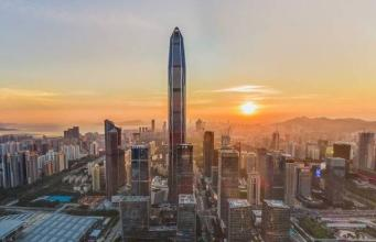 由建筑公司Kohn Pederson Fox设计的位于深圳的599米摩天大楼