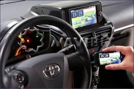 这些功能是通过Toyota Link功能随附的7.0英寸触摸屏界面控制的