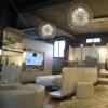 Materia的墨西哥设计周展馆在其自身上方投射阴影图案