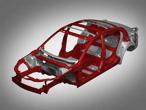 Niro下方是一个由53%的高级高强度钢组成的新开发平台