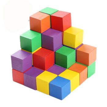 可以组装成二维形状并受外部磁场控制的立方体形磁性积木