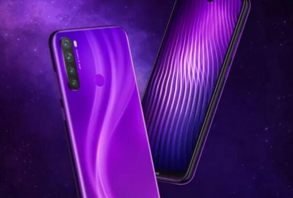 Redmi Note 8在中国获得了新的星云紫色变色