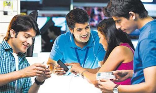 印度公司在智能手机市场上的主导地位日益增强