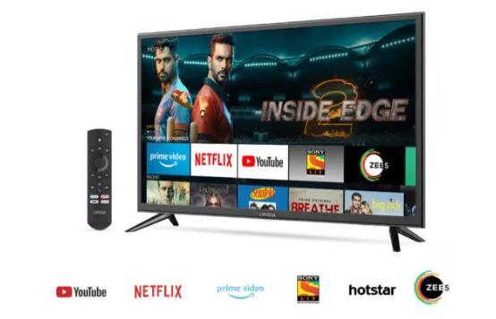 欧尼达在印度推出亚马逊消防电视版智能电视 价格从12999卢比起