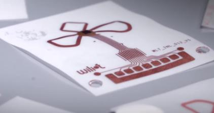 Wiliot蓝牙贴纸传感器标签不需要电池