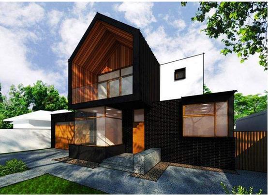建筑师在墨尔本设计了具有复杂建筑风格的住宅