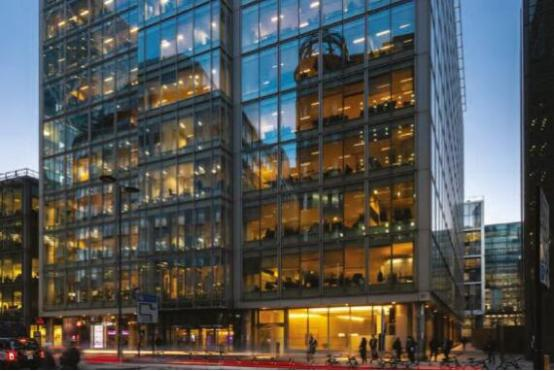 CBRE GI收购280000平方英尺的伦敦办公大楼