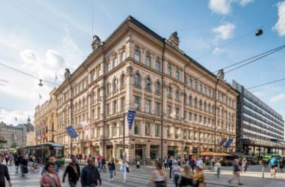 联合投资集团以1.48亿欧元收购了赫尔辛基的多用途建筑