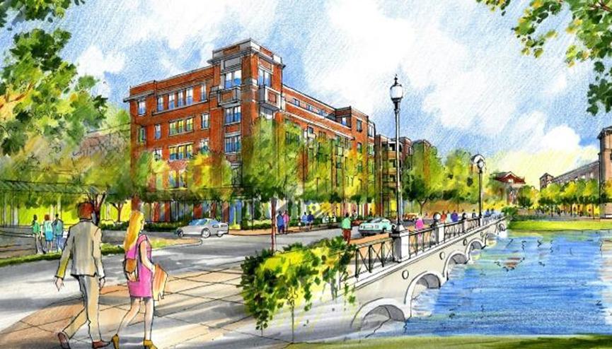 绍斯莱克镇广场提议建立豪华租赁社区