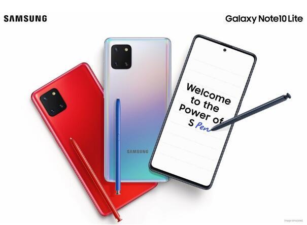 三星Galaxy S10 Lite和Note 10 Lite正式发布:优质功能更低价格