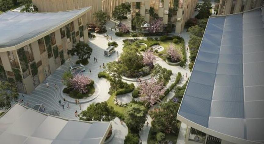 丰田在日本建造未来的原型城市
