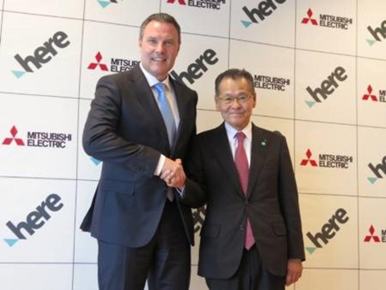 HERE与三菱公司建立战略合作伙伴关系 以促进亚太地区的增长