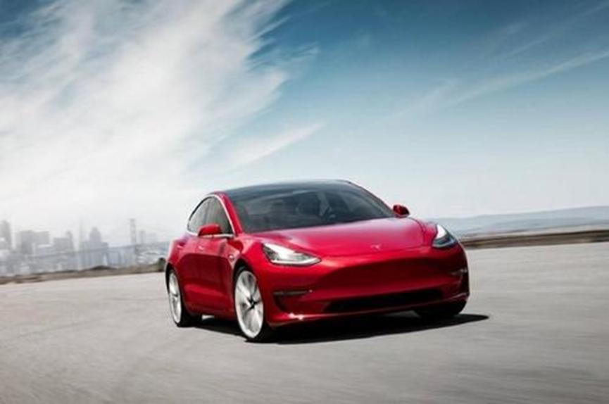 特斯拉的Model 3是美国唯一的实际销量电动汽车