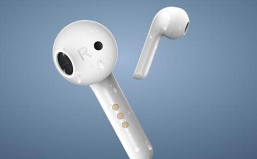 TicPods 2完全无线耳塞带有较小的保护套与USB-C等