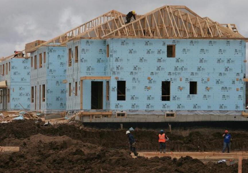 CMHC报告称 12月加拿大房屋开工的年度速度放缓