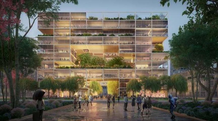 Foster + Partners将在上海设计阿里巴巴的新总部