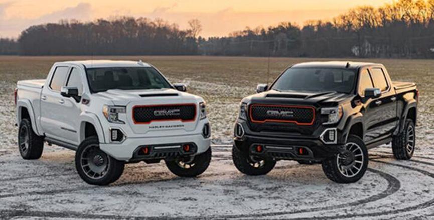 2020 Harley-Davidson GMC Sierra将标志性品牌引入新卡车