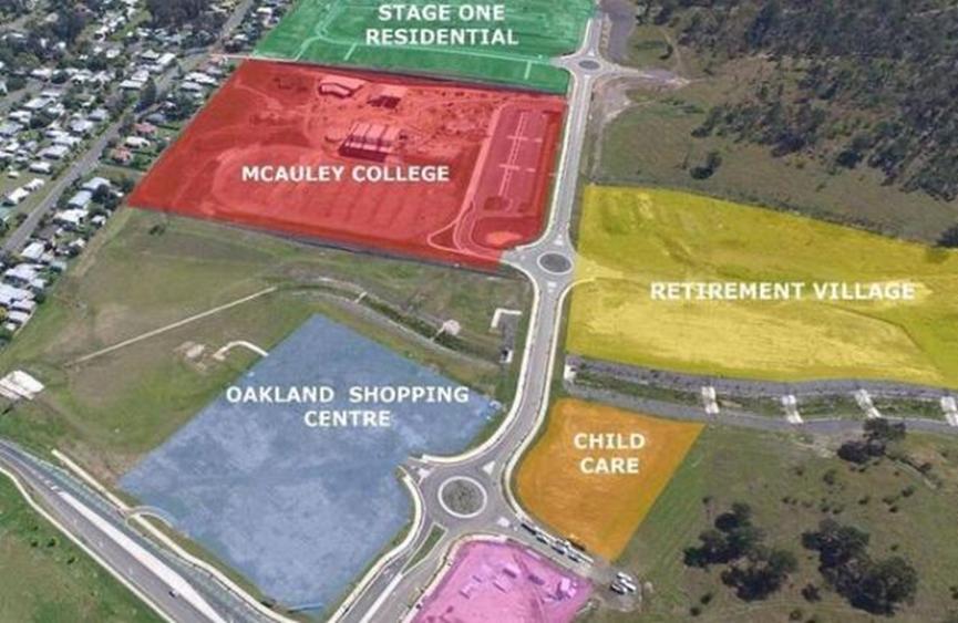 退休村的新社区枢纽是一大卖点